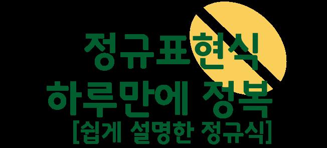하루만에_정규표현식