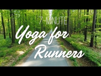 7-Minute Yoga For Runners - Yoga With Adriene