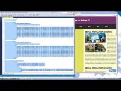 실전 HTML5 & CSS3 동영상 강좌  제 20강 태블릿 레이아웃-I