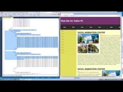 실전 HTML5 & CSS3 동영상 강좌 제 21강 태블릿 레이아웃-II