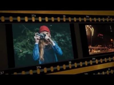 파워디렉터 강좌 35편 - 필름 스트립 효과 1