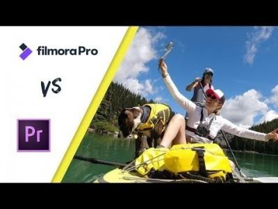 Filmora Pro Versus Adobe Premiere Pro Honest Review