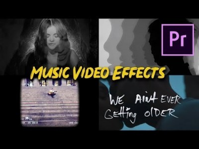4 Popular Music Video Effects (Selena Gomez, Coldplay, Chain…