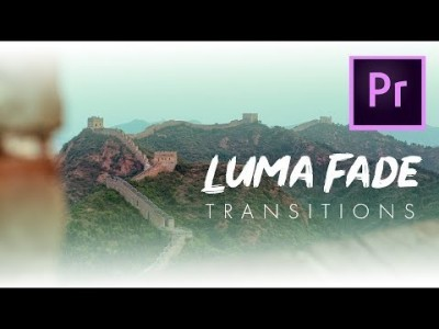 How to Create a Luma Fade Transition in Adobe Premiere Pro l…