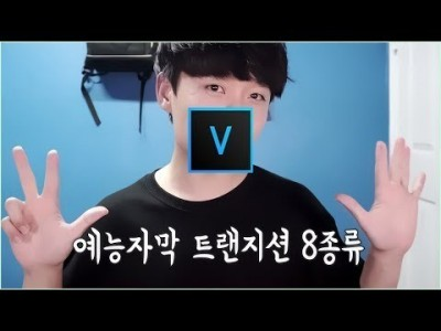 베가스 강좌 예능 자막 트랜지션(모션?) 8종 만들기/베가스자막/Vegas Pro16