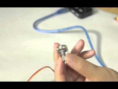 아두이노 기초 - 서보모터 사용하기