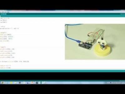 프로젝트 - 초음파 레이더 만들기