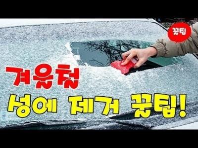 [초보운전탈출] ♥ 꼭 알아두면 유용한 겨울철 성에 제거 쉽게 하는 꿀팁 ㅣ 미남의운전교실