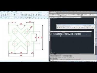 [AutoCAD 2D Basic 6강] 사각형그리기,중간복습 및 도면예제풀이1
