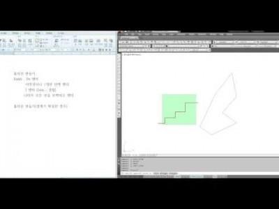 [AutoCAD 2D Basic 19강] 폴리선(Polyline) 그리고 편집(Pedit)하기.