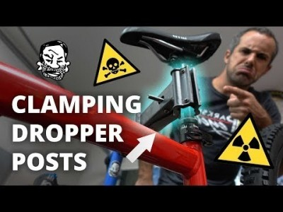 Clamping your dropper post is no big deal