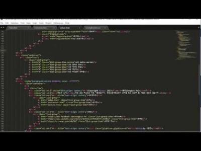 부트스트랩 웹 디자인 실전 강좌 11강 - 리스트 그룹 (Bootstrap Web Design Tutoria…
