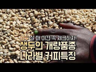 【커피TV】 원두 살 때, 품종과 나라이름을 체크하니?! 이거 필독하자!