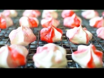 [Mint Meringue] 간단한 디저트 10 - 민트 머랭쿠키 만드는 법
