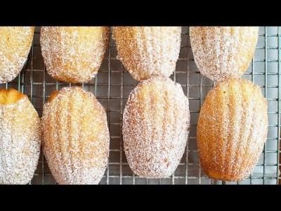 [Vanilla Madeleines] 맛있는 디저트 8 - 바닐라 마들렌 만들기
