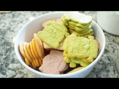 [basic vanilla cookie dough] 간단 과자 반죽 만드는 방법