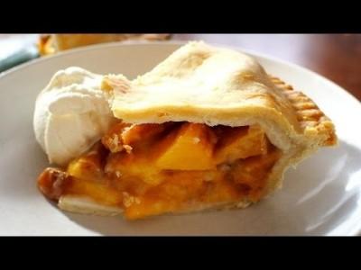 ♥홈메이드 복숭아 파이 만들기♥간단한 파이입니다. 복숭아 이외의 다른 재료로 대체하셔도 됩니다.^^