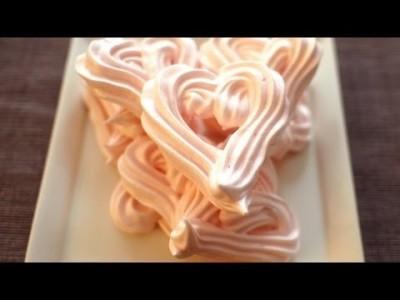 [Heart Meringue] 간단 발렌타인데이 선물 1 - 하트 머랭 쿠키 만들기