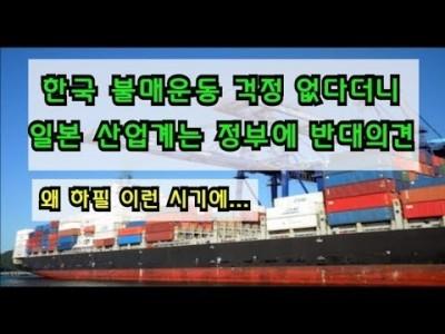 한국 불매운동 걱정없다더니 일본 경제 ,산업계는 정부와 반대의견  왜? 하필 이런시기에...