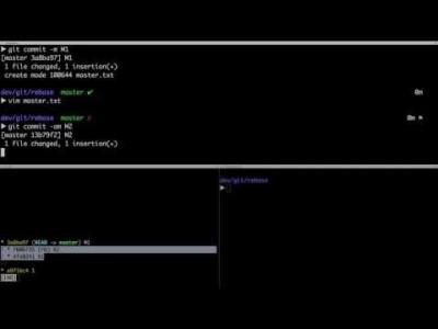 지옥에서 온 Git - Rebase 2/3