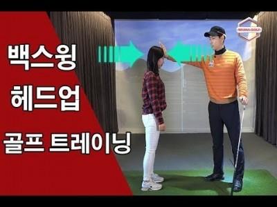 [ 워너골프 ]백스윙과 헤드업 방지에 좋은 골프 트레이닝 / 골프레슨 / Golf Lesson