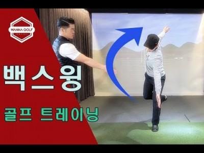 [ 워너골프 ] 백스윙과 하체의 밸런스를 향상시키는 골프트레이닝 /  GOLF TRAINING