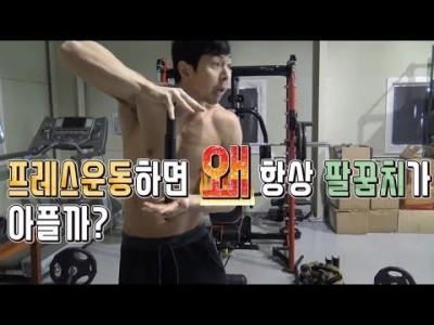 [부상관련]운동하면 왜 항상 팔꿈치가 아플까?::팔꿈치 통증예방법 by 키다리형