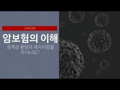 암보험의 이해: 경계성종양과 제자리암을 아시나요?