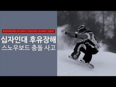 십자인대 후유장해 : 스키사고로 인한 보상처리