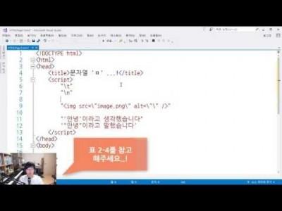 모던 웹을 위한 JavaScript + jQuery 입문 3판 4강 - 문자열 자료형