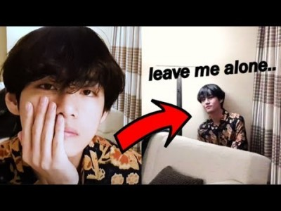 BTS Taehyung got MAD on his VLIVE? Why Did He Move Back?