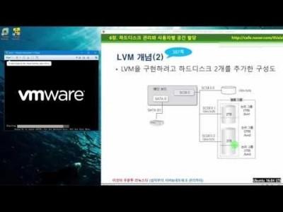 》 이것이 우분투 리눅스다 06장 06교시 : LVM 개념과 구현