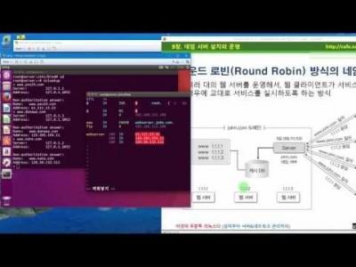 》 이것이 우분투 리눅스다 09장 04교시 : 라운드 로빈 방식의 네임 서버