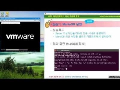 》 이것이 우분투 리눅스다 11장 01교시 : DBMS 개념 및 MariaDB 설치