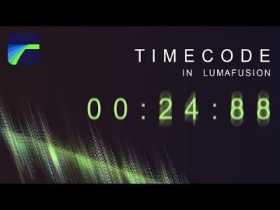[루마퓨전 LumFusion 강좌] 루마퓨전으로 타임코드 만들기