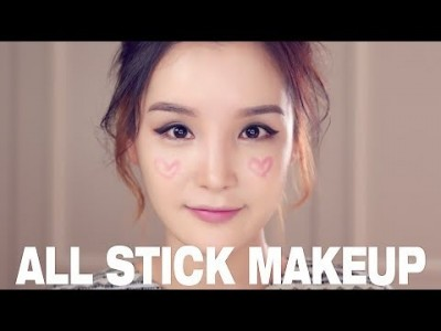 All Stick Makeup with LaMuqe 올 스틱 메이크업 // I love makeup.