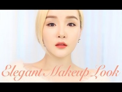 Eng/中国语字幕] TUTORIAL: Elegant Makeup Look ㅣ 예뻐지는 메이크업 ㅣ  LAMU…