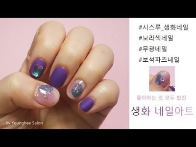 [봄,꽃]하고 싶은 아트 다 담은 생화 네일아트  Dried Flower Nail Artㅣ Younghee …