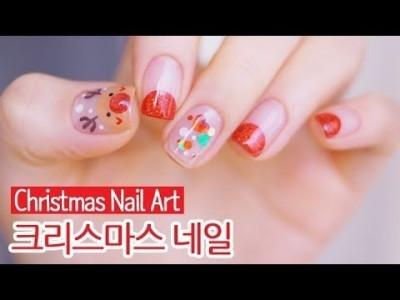 크리스마스 젤네일아트 : Christmas Nail Art
