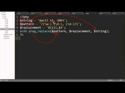 PHP - 정규표현식 치환1