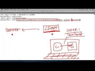 데이터베이스 접속방법 OSX