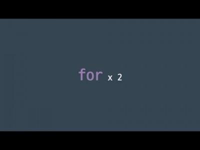 #28 for x 2 | 파이썬 강좌 코딩 기초 강의 Python | 김왼손의 왼손코딩