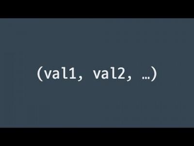 #24 튜플 | 파이썬 강좌 코딩 기초 강의 Python | 김왼손의 왼손코딩