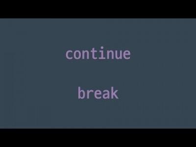 #40 continue, break | 파이썬 강좌 코딩 기초 강의 Python | 김왼손의 왼손코딩