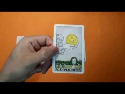 타로카드 마이너카드 스캔하기 2편(에이스카드편)