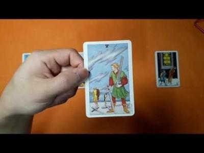 타로카드 마이너카드 스캔하기 6편(파이브카드모음편)